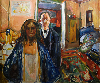 The Artist and his Model Edvard Munch